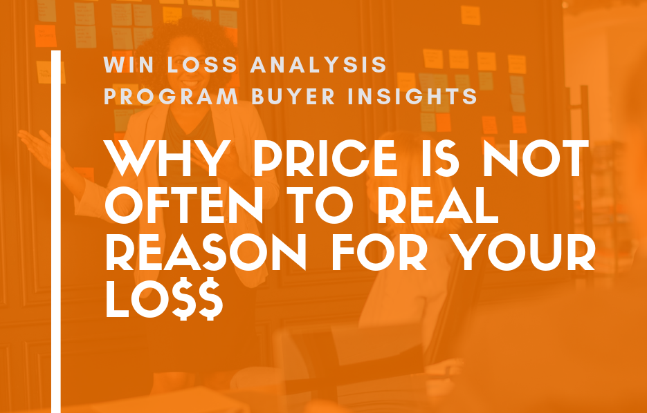 Win Loss Analysis Price